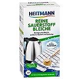 Heitmann Reine Sauerstoff-Bleiche 375g: für hygienische Sauberkeit im Haushalt, hohe Waschkraft mit Soda und Sauerstoff - bleicht und entfernt zuverlässig Flecken von Oberflächen und aus Textilien