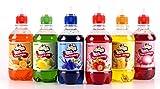 Jarabe Para Granizados: Varios sabor pack (6x 330ml) para hacer Decorados granizados