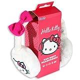 Kello Kitty HK8903W Cache-Oreilles Audio avec Prise Jack 3.5mm - Blanc
