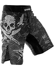 SMMASH MMA Pantalones Cortos COMBAT 2.0 S M L XL XXL MMA BJJ UFC Boxen K1 (L)