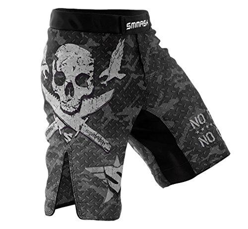 SMMASH MMA Shorts COMBAT 2.0 S M L XL XXL XXXL MMA BJJ UFC sport di combattimento (L)