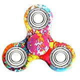 Hand Spinner Stress Relief Jouet,Tri-Spinner Fidget Toy Metal Bearing Focus Toy pour le temps de tuer