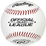 Rawlings Freizeit-Baseball OLB3, Durchmesser 23 cm, 1 Stk.