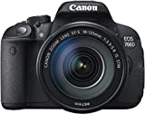 Canon EOS 700D SLR-Digitalkamera (18 Megapixel, 7,6 cm (3 Zoll) Touchscreen, Full HD, Live-View) Kit inkl. EF-S 18-135mm 1:3,5-5,6 IS STM