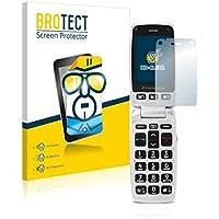 2x BROTECT Protector Pantalla Doro Primo 413 Película Protectora – Transparente, Anti-Huellas