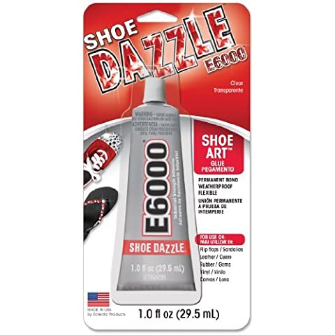 E-6000 Multi-Purpose Adhesive 1.0 Ounces 1/Pkg-Shoe Dazzle Shoe Art Glue by E6000
