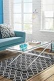 My-Furniture ANIKKA - moderner Tisch aus Glas und Chrom