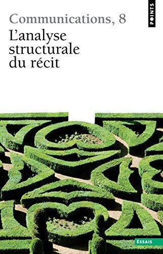 L'Analyse structurale du récit