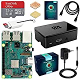 LABISTS Raspberry Pi 3 Modello B+ (Plus) Starter Kit Barebone Madre con MicroSD Card 32GB, Custodia e Power Supply 5V 3A con Interruttore