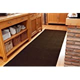 Heavy Duty Runner Rug Any Length Brown - Any Length up to 20 Metres - SOLD BY THE METRE
