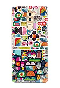 Knotyy Honor 6X Cover/Honor 6X Back Cover/Honor 6X Designer Printed Back Case