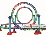 Features: Upside down loop, lights in engine, extra ribbits for firmer track, collect more and make your track.