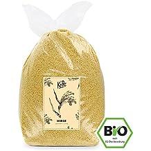 BIO Hirse ● Glutenfrei ● Getreide Mit Qualität ● 2,5 kg Packung ● KoRo