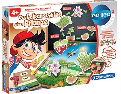 Clementoni Galileo- Der Lebenszyklus einer Pflanze (Lebenszyklus Der Pflanzen)
