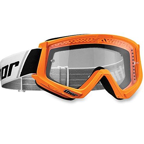 Thor Combat Crossbrille orange Motocrossbrille Goggle Offroad Enduro MX SX MTB BMX DH KTM Kawasaki Yamaha Honda Suzuki Motocross Brille