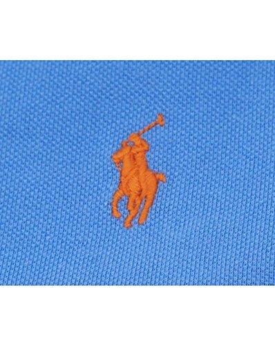 Polo Ralph Lauren SS KC SLFIT PPC-Polo Uomo Island Blue