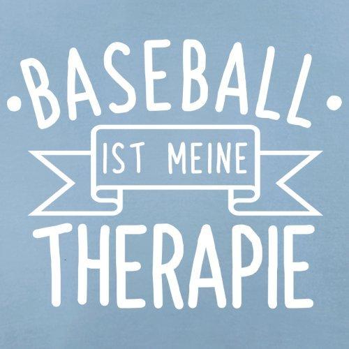 Baseball ist meine Therapie - Herren T-Shirt - 13 Farben Himmelblau