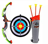 Ajmeri Traders Bow and Arrow Set for Kids Outdoor Play Toy Princess Basic