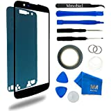 MMOBIEL Kit de Reemplazo de Pantalla Táctil para LG K10 LTE K430 K420 K410 Size 5.3 inch (Negro) incluye cinta adhesiva / Kit de Herramientas / Limpiador de microfibra / alambre Metálico