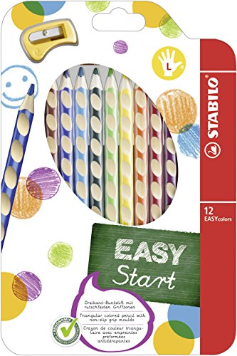 Lápiz color ergonómico STABILO EASYcolors START