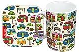 Selina-Jayne Caravan Limited Edition Designer Mug and Coaster Set