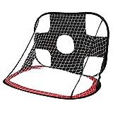 Antivento Portatile Pieghevole Bambini Football Goal Porte Set di Calcio cancello di Sport Esterni Giocattoli di Calcio dei Capretti Porta Set