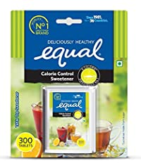 Equal Calorie Control Sweetener (300 Tablets - Pack of 5)