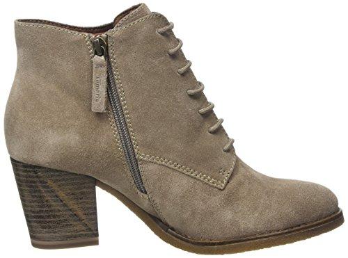 Tamaris Damen 25114 Combat Boots Braun (Cashmere 371)
