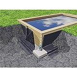 Kalendo Nappe de Protection des parois pour Piscine Bois L.20 x H.1,50 m P6946 • Piscine/Spa/Sauna • l'univers du Jardin