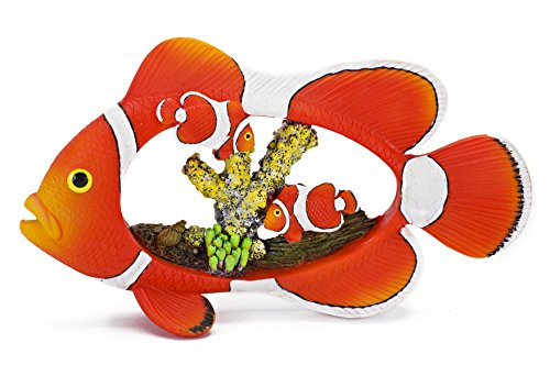 Penn-Plax Fisch Clown/Coral Dekor für Aquarium 17,8cm -