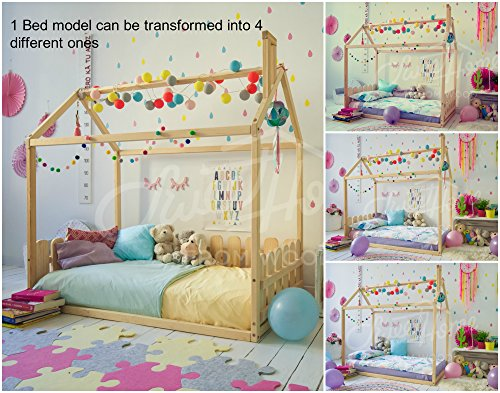 Sweet Home of Wood Montessori - Cama Infantil
