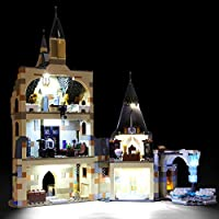 BRIKSMAX Led Lighting Kit for LEGO Harry Potter Hogwarts Castle Clock Tower- Compatible with Lego 75948 Building Blocks Model- Not Include The Lego Set