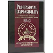 Professional Responsibility (Audiocassette)