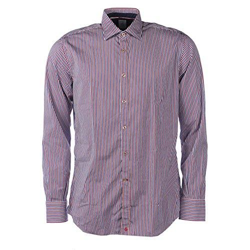 Delsiena -  camicia casual  - uomo red & blue 109 cm/ 43 cm