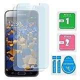 2x mumbi ECO Panzerfolie Samsung Galaxy S5 / S5 Neo Hartglas Glasfolie Test
