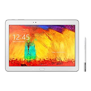 Samsung Galaxy Note 10.1-inch Tablet (White) - (Quad Core 1.9GHz Processor, 3GB RAM, 16GB Storage, WLAN, BT, 2x Camera, Android 4.1 Jelly Bean) (New Edition for 2014)