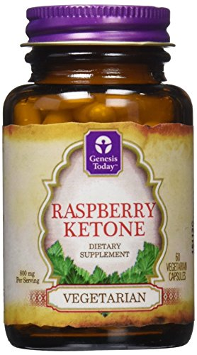 NEW Genesis Today PURE RASPBERRY Ketones 60 Cap Bottle -