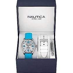 Nautica A11628M BFD 102 MID Box Set Unisex Watch