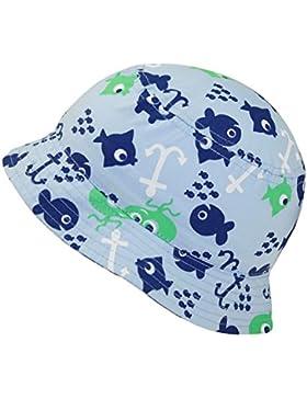 Fiebig Sombrero De Pescador Niños Gorro Ocio Tela Verano Vacaciones Con Peces Para (FI-80906-S17-JU0) incl. EveryHead-Hutfibel