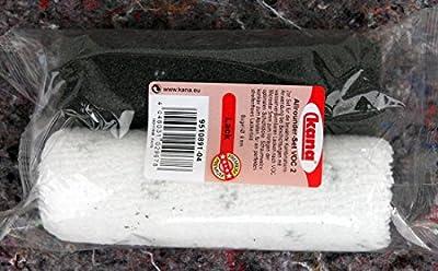 20 x Kleinwalzen 12cm VOC für Acryl Lack 10 x Microstar - 10 x Schaum superfein konkav