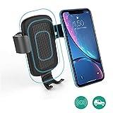 Wooshop Chargeur Induction Voiture, Chargeur sans Fil Voiture à Induction avec Support sur Grille de Ventilation pour iPhone XS Max/XS/XR/X IPhone8/7 Nexus7/6/5 Galaxy S9/S8/S8+/S7/S6 Note 5