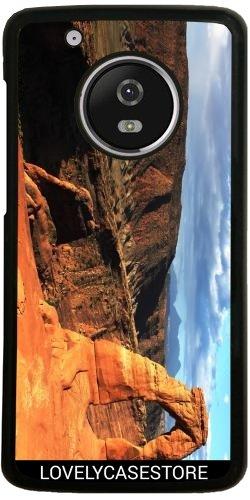 Hülle für Lenovo (Motorola) Moto G5 Plus - Grand Canyon Arizona USA USA Arid Wüste Klippe