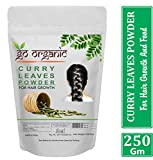 Go Organic Curry Leaves Powder Curry Leaves to Grow Long, Strong and Shiny