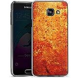 Samsung Galaxy A3 (2016) Housse Étui Protection Coque Rouille Structure Look