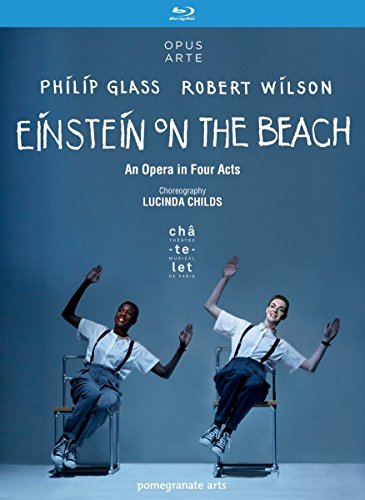 Glass: Einstein On The Beach (Theâtre du Châtelet, 2012) [Blu-ray]
