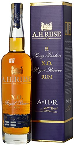 A.H. Riise XO Royal Reserve Kong Haakon Special Edition Rum, 1er Pack (1 x 700 ml)