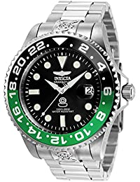 Invicta Pro Diver Men's Chronograph Automatic Watch with Stainless Steel Bracelet – 21866