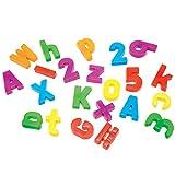Learning Resources - Letras y números magnéticos (no incluye pizarra magnética)