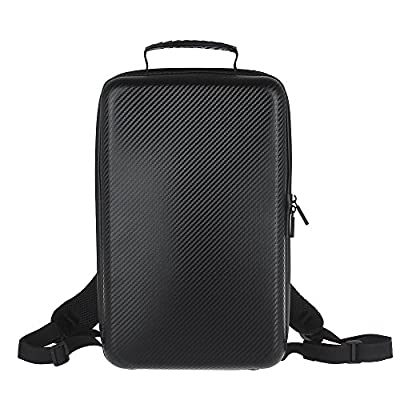 Onebird For DJI Mavic Pro UVA FPV Mini Quadcopter Hard Case Hardshell Carbon Grain Drone Backpack Shoulder Bag Luggage Waterproof