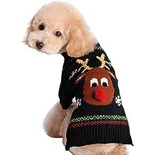 Eizur Cane Gatto Natale Maglione Inverno Caldo